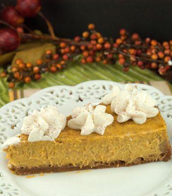 Pumpkin Cheesecake| afoodieaffair.com