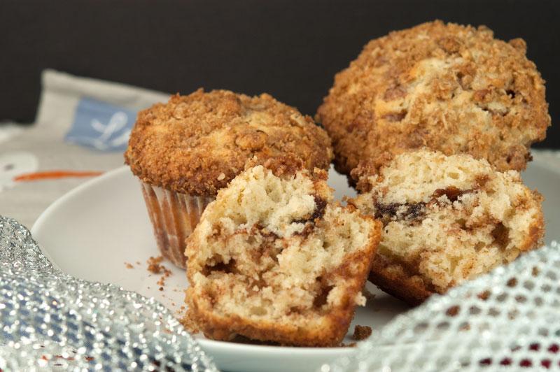 Cinnamon Streusel Muffins | afoodieaffair.com