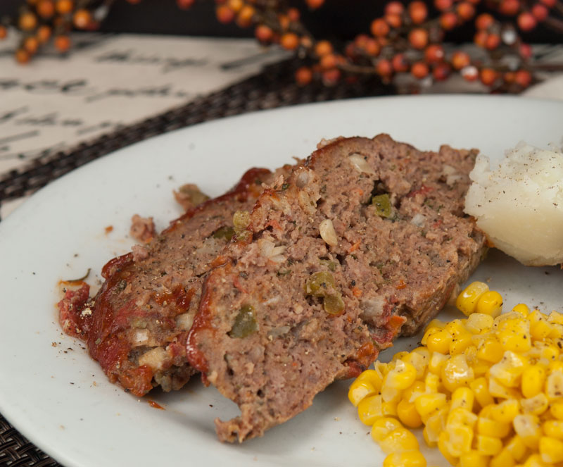 Ronnie's Meatloaf | afoodieaffair.com