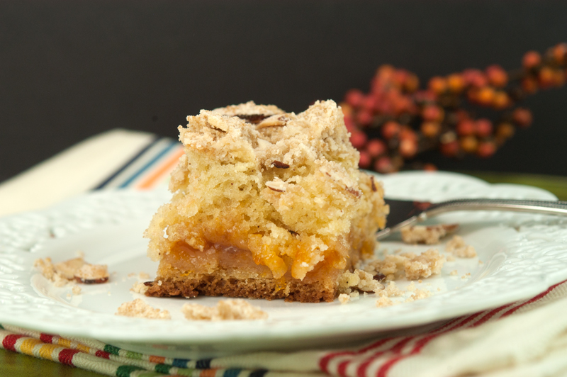 Apricot Almond Coffee Cake | afoodieaffair.com