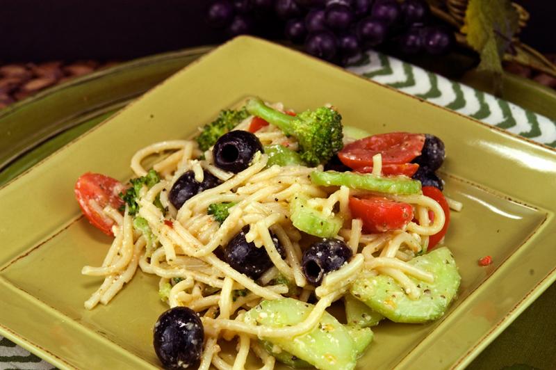 Italian Spaghetti Salad   afoodieaffair.com