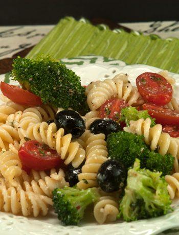 Pasta Salad Italiano | afoodieaffair.com