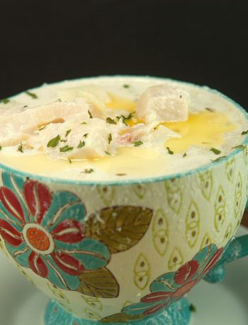 Clam, Haddock & Scallop Chowder | afoodieaffair.com